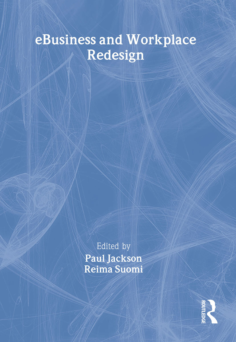 eBusiness and Workplace Redesign (Paperback) book cover