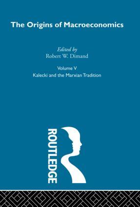 Origins of Macroeconomics: Volume Five book cover