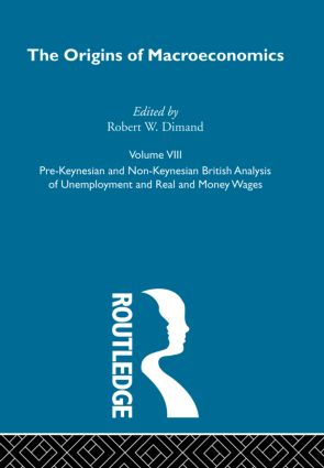 Origins of Macroeconomics: Volume Eight book cover