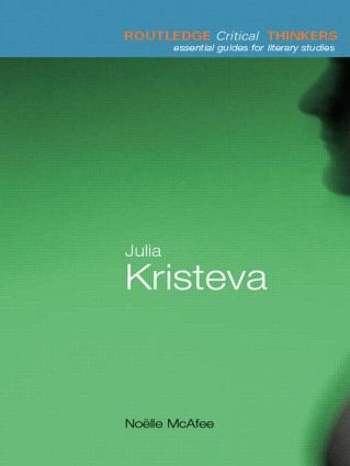 Julia Kristeva book cover