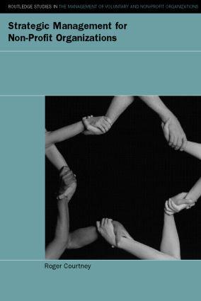 Strategic Management for Nonprofit Organizations: 1st Edition (e-Book) book cover