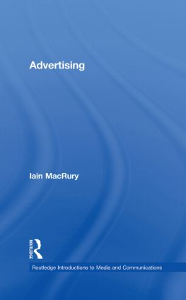 Advertising book cover