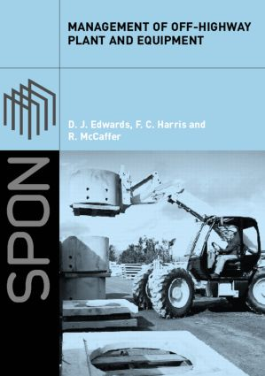 Management of Off-Highway Plant and Equipment (Paperback) book cover