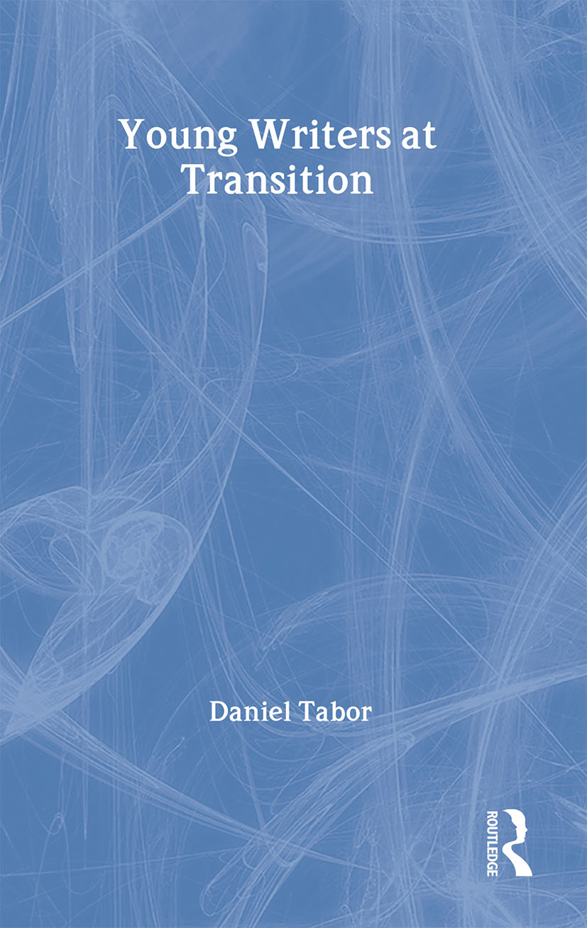 Young Writers at Transition book cover