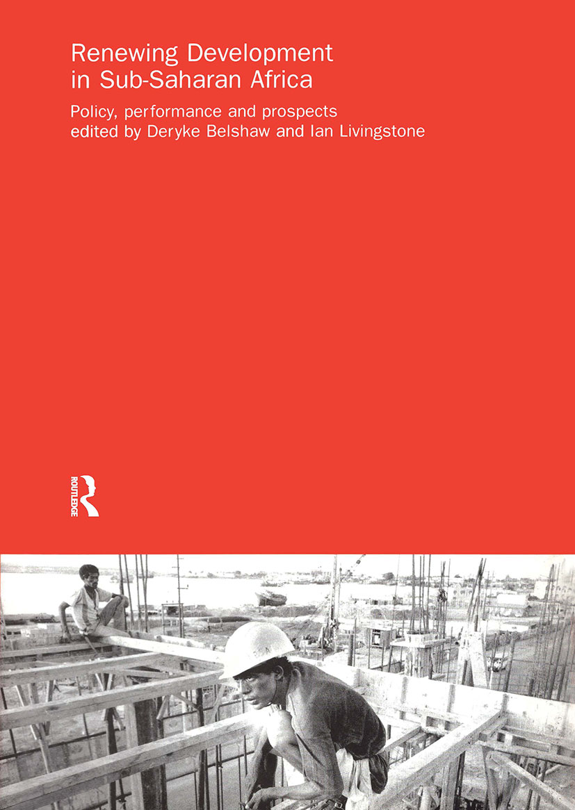 Renewing Development in Sub-Saharan Africa: Policy, Performance and Prospects, 1st Edition (Paperback) book cover