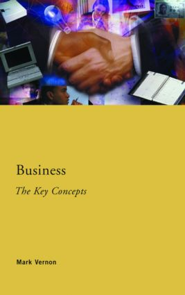 Business: The Key Concepts: 1st Edition (Paperback) book cover