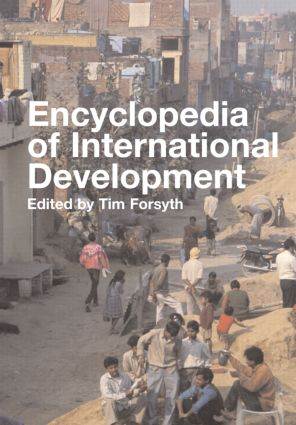 Encyclopedia of International Development: 1st Edition (Hardback) book cover