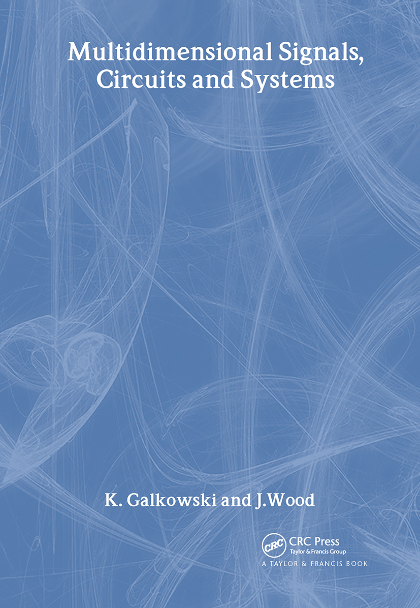 Multidimensional Signals, Circuits and Systems: 1st Edition (Hardback) book cover