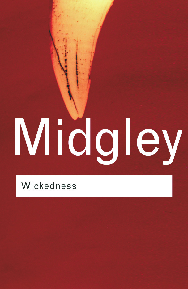 Wickedness: 2nd Edition (Paperback) book cover