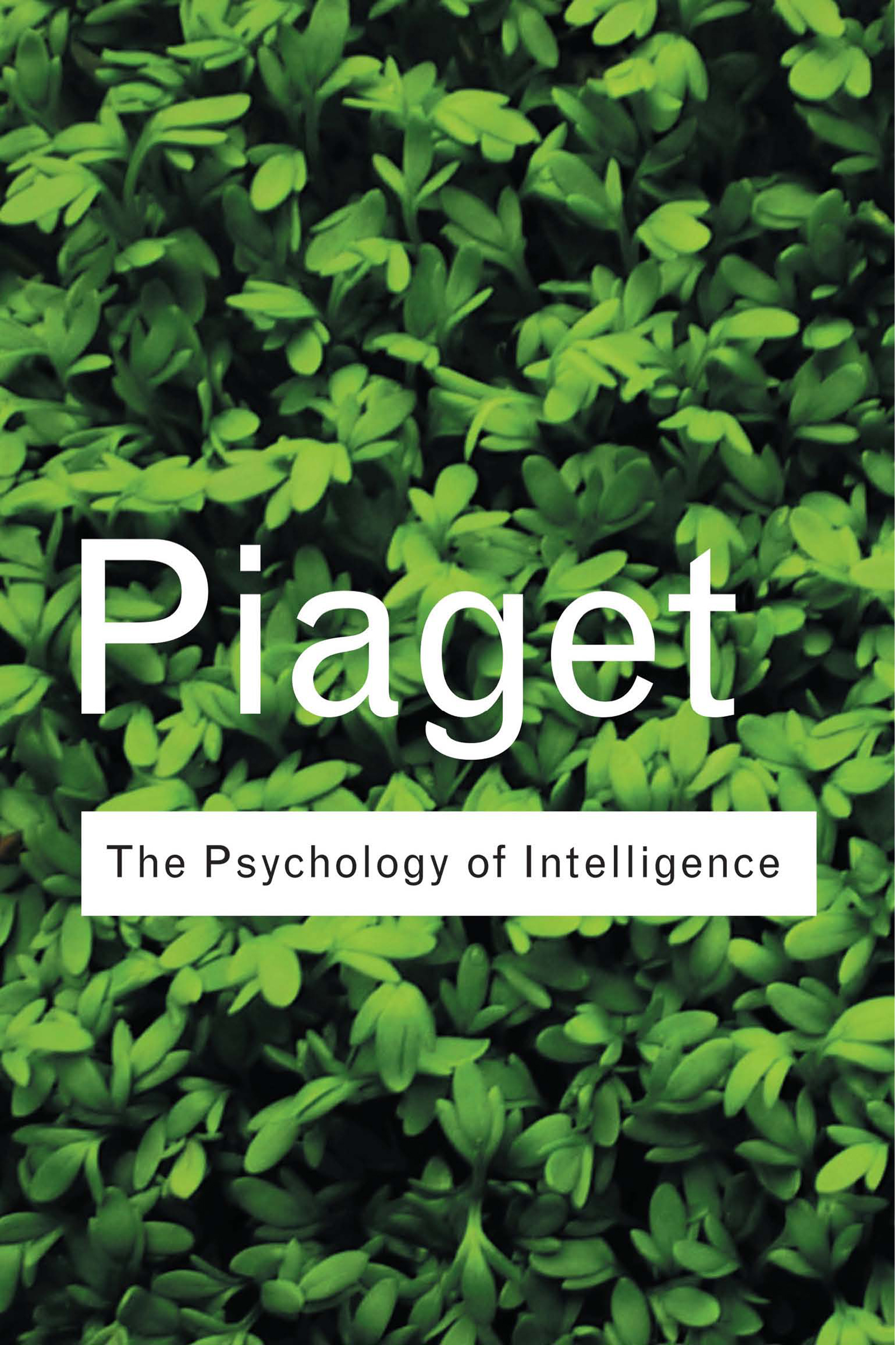 The Psychology of Intelligence (Paperback) book cover