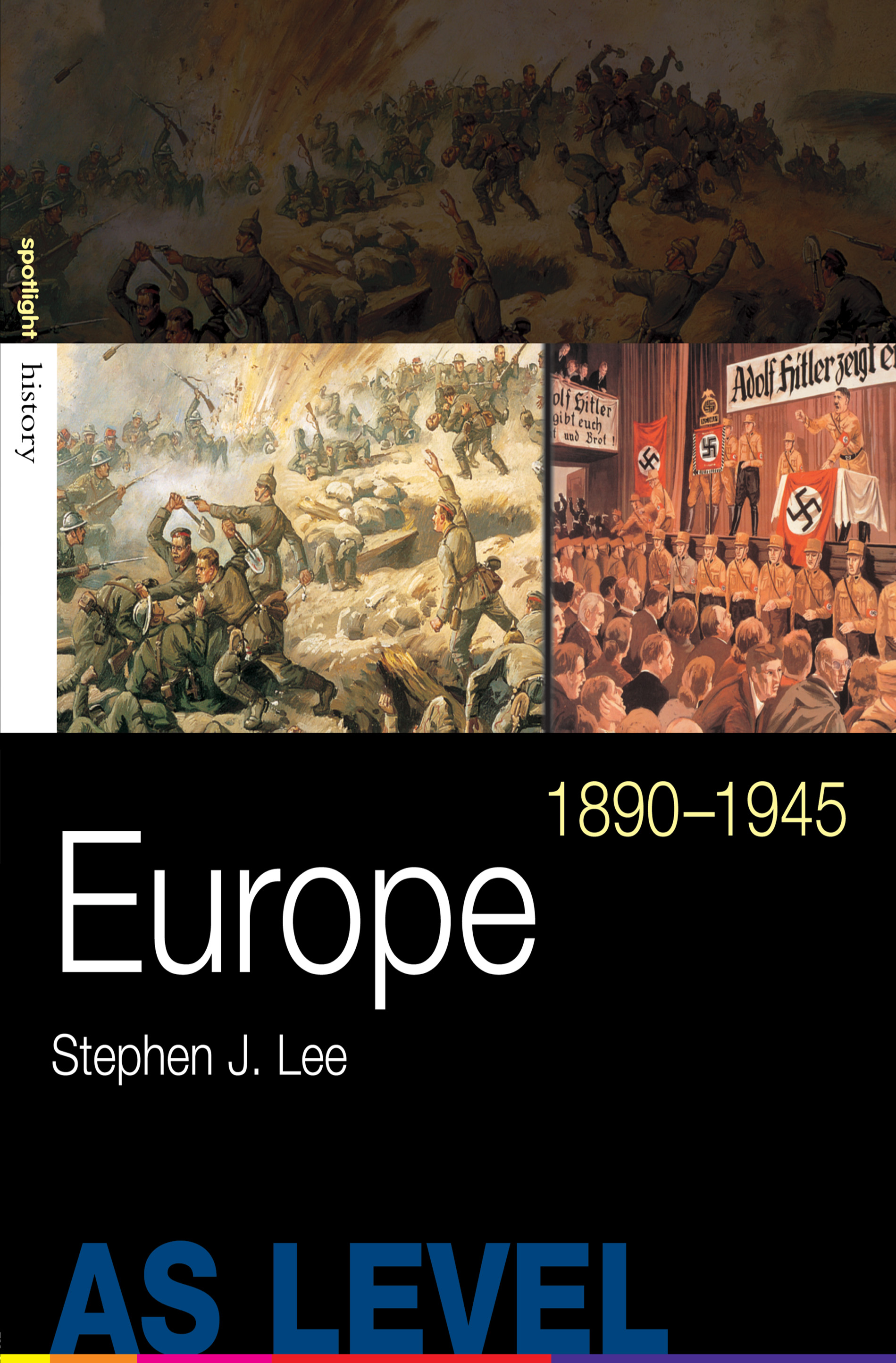 Europe, 1890–1945: 1st Edition (Paperback) book cover