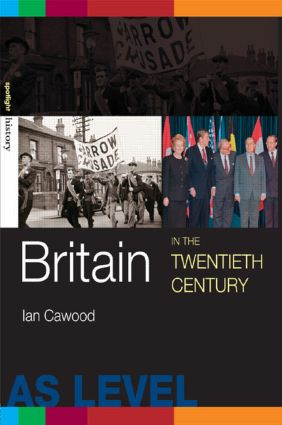 Britain in the Twentieth Century (Paperback) book cover