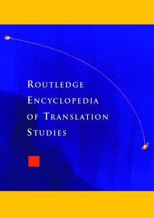 Routledge Encyclopedia of Translation Studies