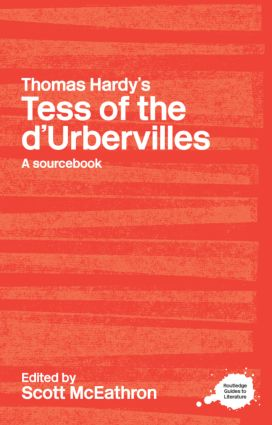 Thomas Hardy's Tess of the d'Urbervilles: A Routledge Study Guide and Sourcebook book cover