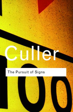 The Pursuit of Signs: 1st Edition (Hardback) book cover