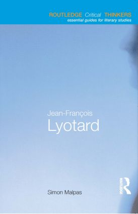 Jean-François Lyotard book cover