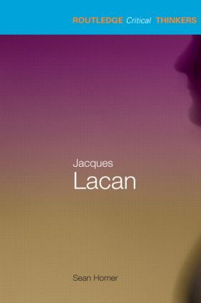 Jacques Lacan (Paperback) book cover
