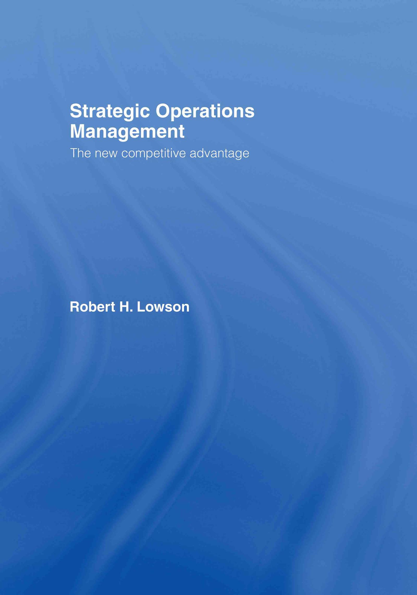 Strategic Operations Management