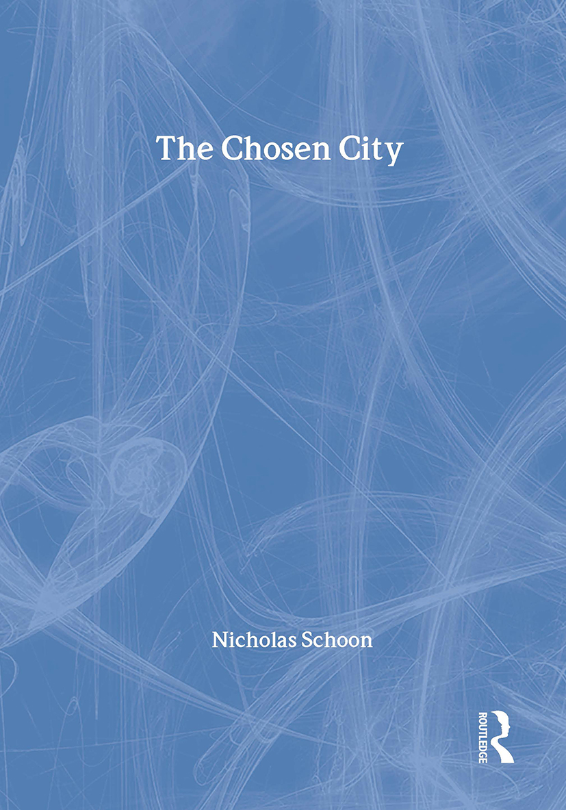 The Chosen City: 1st Edition (Paperback) book cover