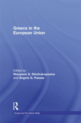 Greece in the European Union: 1st Edition (Hardback) book cover