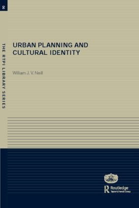 Urban Planning and Cultural Identity (Paperback) book cover