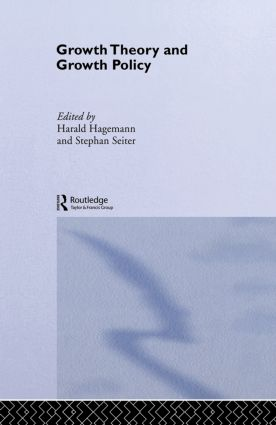 Growth Theory and Growth Policy (Hardback) book cover
