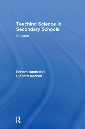 Teaching Science in Secondary Schools: A Reader, 1st Edition (Hardback) book cover