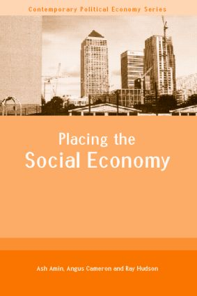 Placing the Social Economy (Paperback) book cover