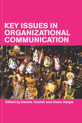 Key Issues in Organizational Communication (Paperback) book cover