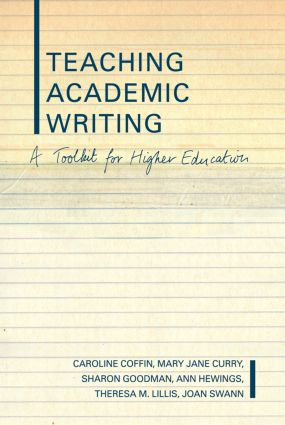 Teaching Academic Writing: A Toolkit for Higher Education, 1st Edition (Hardback) book cover