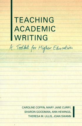 Teaching Academic Writing: A Toolkit for Higher Education (Paperback) book cover
