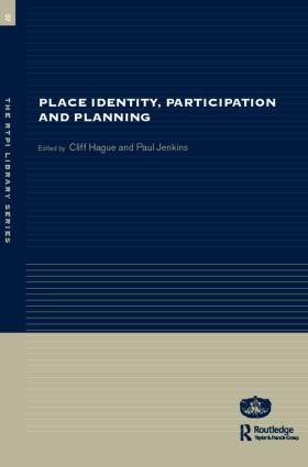 Place Identity, Participation and Planning book cover