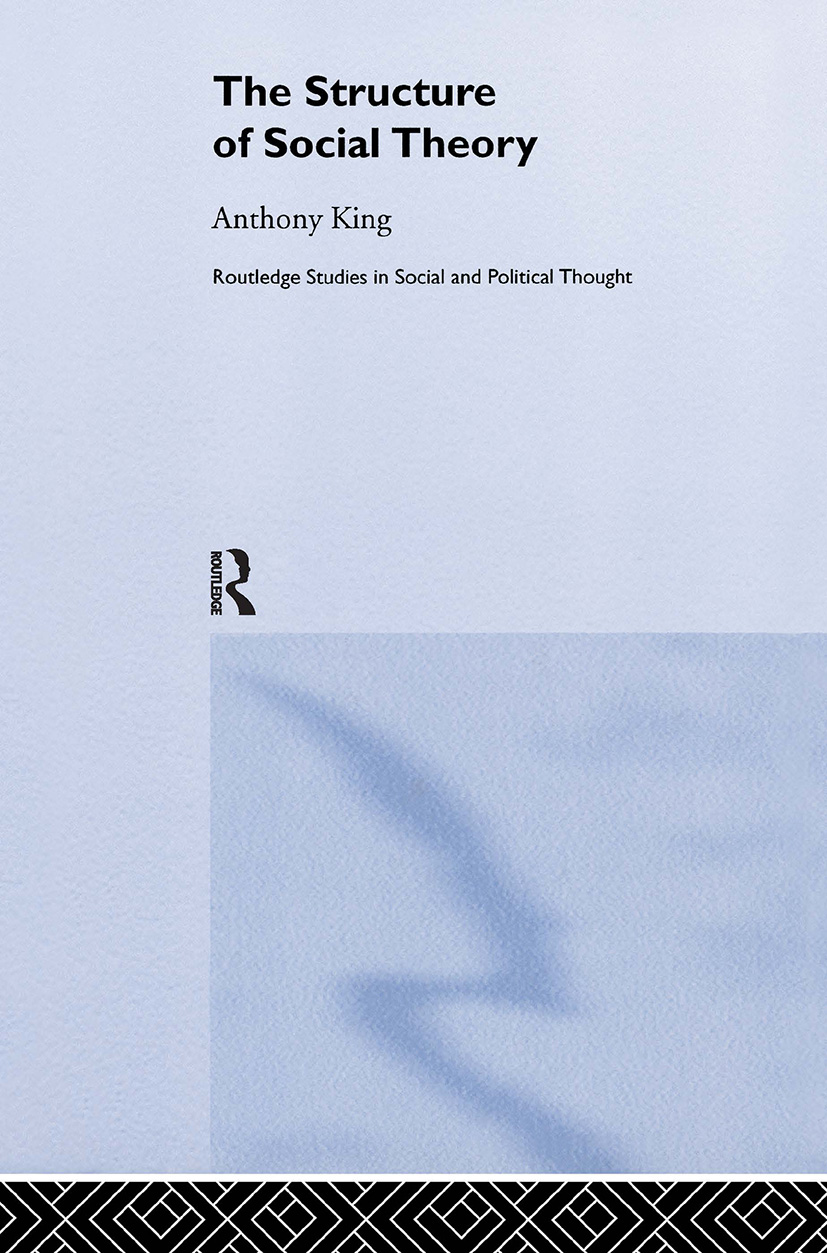 The Structure of Social Theory (Hardback) book cover