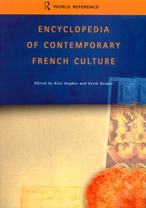 Encyclopedia of Contemporary French Culture (Paperback) book cover