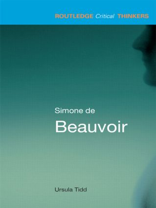 Simone de Beauvoir book cover