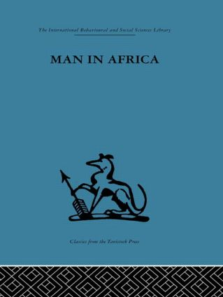 Man in Africa: 1st Edition (Hardback) book cover