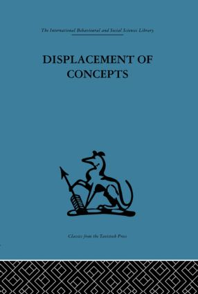 Displacement of Concepts (Hardback) book cover