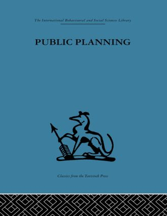 Public Planning: The inter-corporate dimension (Hardback) book cover