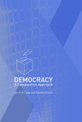 Democracy: A Comparative Approach, 1st Edition (Paperback) book cover