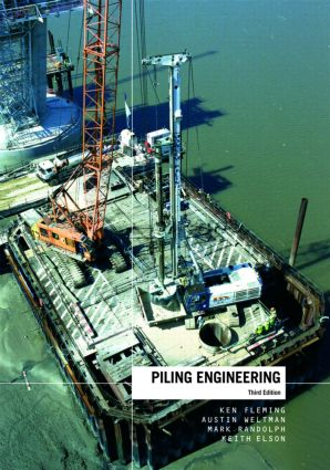 Piling Engineering: 3rd Edition (Hardback) book cover