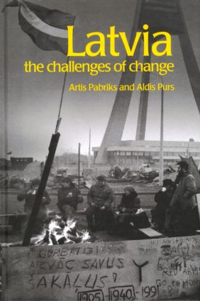 Latvia: The Challenges of Change book cover