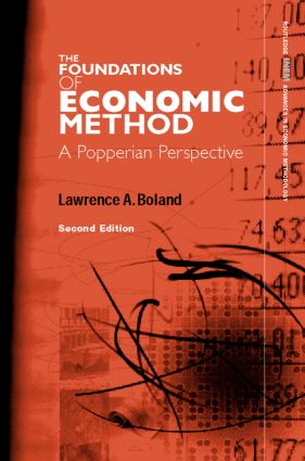 Foundations of Economic Method: A Popperian Perspective, 2nd Edition (Hardback) book cover