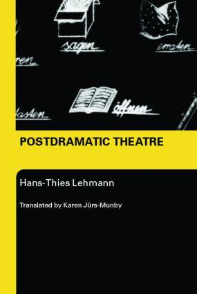 Postdramatic Theatre book cover