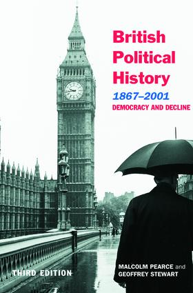 British Political History, 1867–2001: Democracy and Decline, 3rd Edition (Paperback) book cover