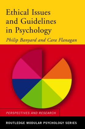 Ethical Issues and Guidelines in Psychology book cover