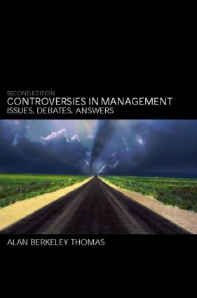 Controversies in Management: Issues, Debates, Answers, 2nd Edition (Paperback) book cover