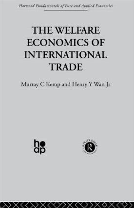 The Welfare Economics of International Trade: 1st Edition (Hardback) book cover