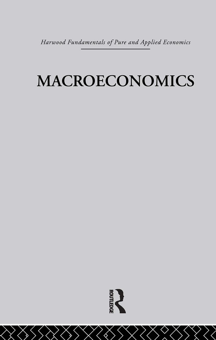 E: Macroeconomics: 1st Edition (Hardback) book cover