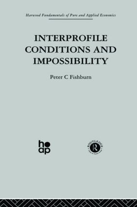 Interprofile Conditions and Impossibility: 1st Edition (Hardback) book cover