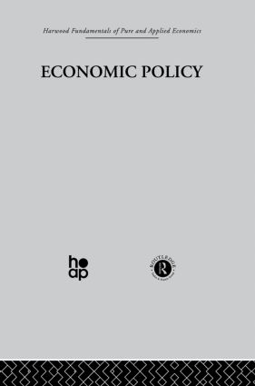 N: Economic Policy: 1st Edition (Hardback) book cover